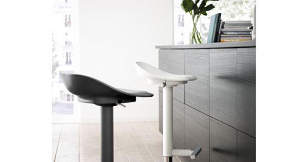 Janinge bar stool white bar stools and bar stools for Barhocker janinge
