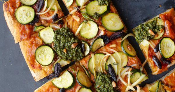Summer Pesto Pizza [Vegan] | Planets, Summer and Fresh basil