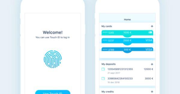 Finance App Login Home Screens Finance App App Login App