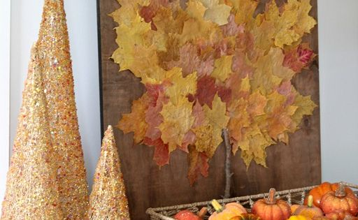 Probably 10 Of The Best Fall Leaves DIY Projects Around -Real Leaf