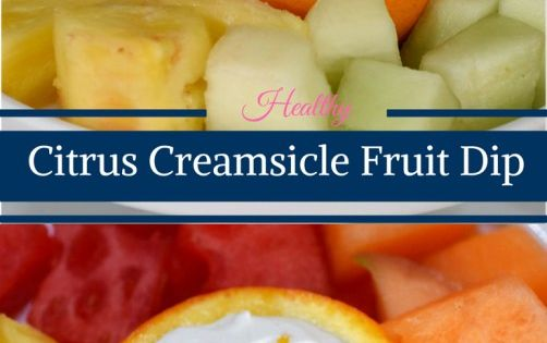 Healthy Orange Creamsicle Fruit Dip | Recipe | Dip appetizers, Dips ...