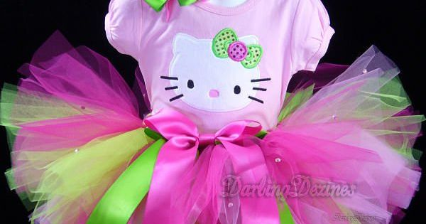 Hello Kitty tutu outfit
