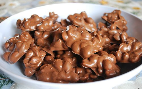 Easy to Make Crock Pot Candy ~ This could be great for