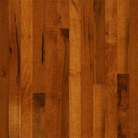 Bruce Frisco 2 25 In Cinnamon Maple Solid Hardwood Flooring 20 Sq Ft Cb9233 Hardwood Floors Maple Hardwood Floors Solid Hardwood Floors
