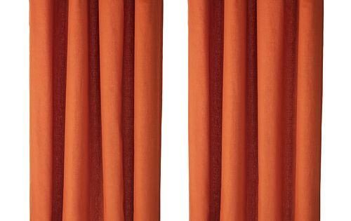 Mariam Gardiner 1 Par Orange Gardiner Och Ikea