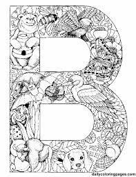 Image Result For Decorative Letter B With A Bee Alphabet Letters To Print Animal Alphabet Letters Coloring Pages