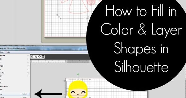 How To Fill In Color And Arrange Shape Layers In