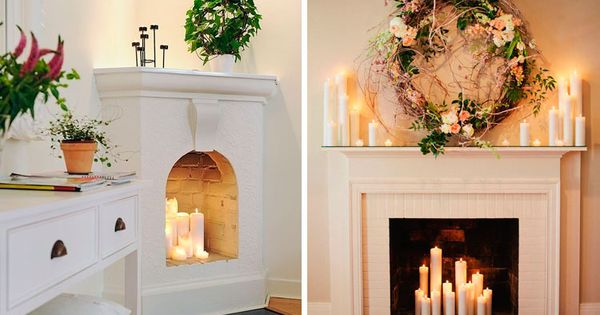 Ideas para decorar chimeneas en desuso decoracion - Chimeneas para decorar ...
