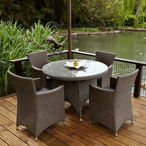 Ideas Para Decorar Terraza Exterior Cristal Para Mesa Redonda De Terraza Muebles Rusticos De Jardin Muebles De Jardin Mesas De Cristal
