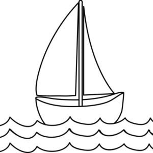 Free Coloring Page Clip Art Image Sailboat Coloring Page Clip