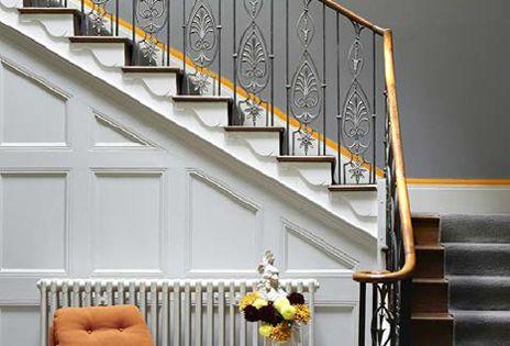 Little Greene Grey Teal, Shallows & Marigold | Interiors ...