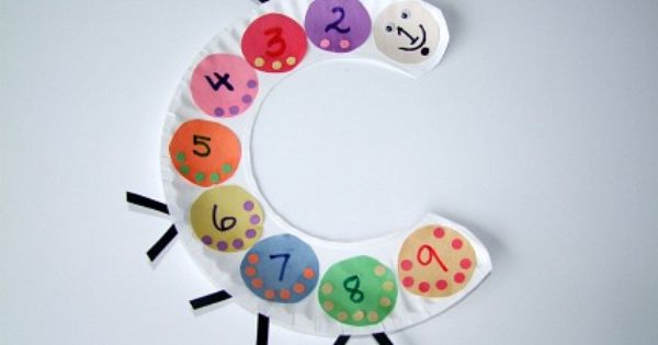 Counting Craft For Kids.