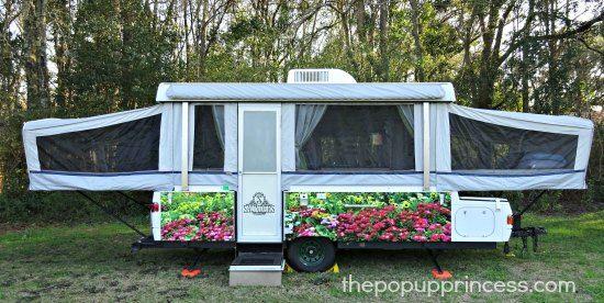 Monte Marie S Pop Up Camper Makeover Fleetwood Pop Up Camper