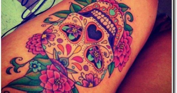 tatouage tete de mort mexicaine recherche google t te. Black Bedroom Furniture Sets. Home Design Ideas