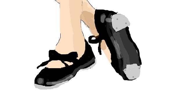Cartoon Tap Shoes Tap Shoes Sketchfu For The Home