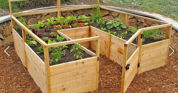 Walk In Garden Box: Walk In Raised Bed! Make Out Of Pallets??