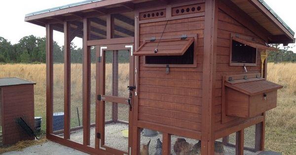 DIY Backyard Chicken Coop - The Owner-Builder Network   See more about Chicken Coops, Backyard Chicken Coops and DIY.