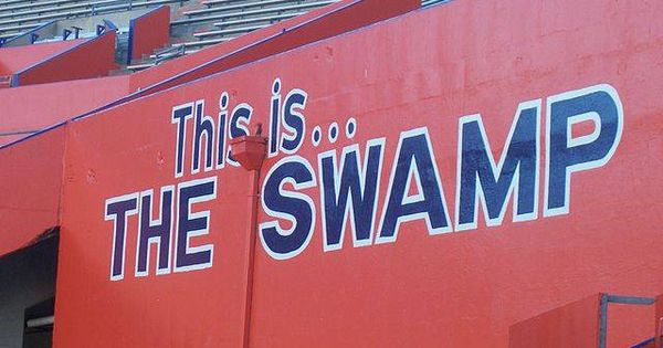 University of Florida Gators - THE SWAMP ! It may be May...