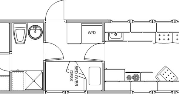 floorplangif 857249 Skoolie RV sample floor plans School