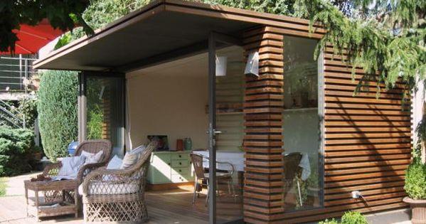 kubisch gartenhaus von fmh metallbau garden pinterest. Black Bedroom Furniture Sets. Home Design Ideas