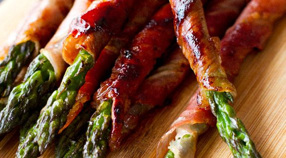 prosciutto wrapped asparagus. recipe sides savory