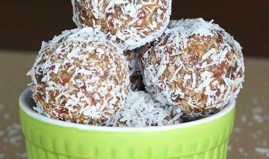 Dessert Recipe: Key Lime Coconut Energy Bites raw vegan dessert recipes glutenfree
