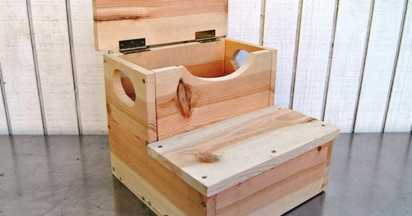Woodworking Project: How to Build a Storage Step Stool for ...