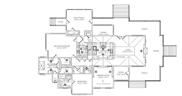modified house plan based on historical concepts tideland abercorn place historical concepts llc southern