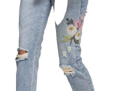 Spodnie Z Dziurami 15 Modnych Fasonow Strona 4 Diy Ripped Jeans Leather Jacket Girl Fashion