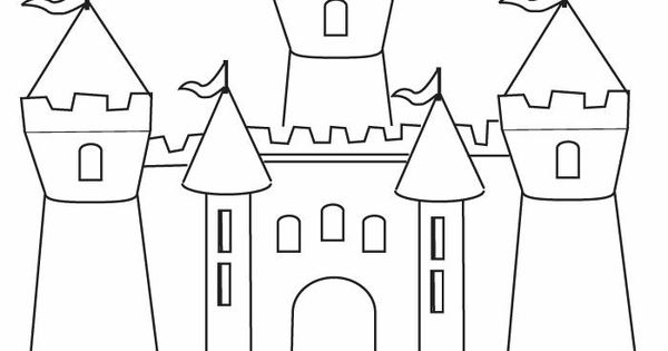 fun castle printable colouring page fairy tales fractured tales fables pinterest castles. Black Bedroom Furniture Sets. Home Design Ideas