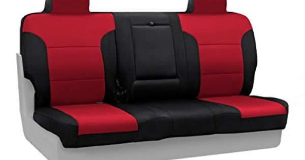 Coverking Rear Custom Fit Seat Cover For Select Gmc Terrain Models