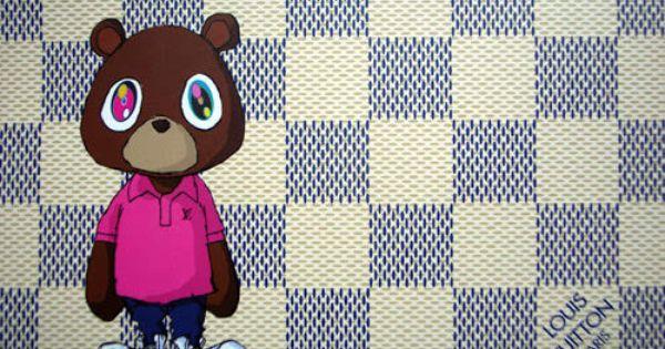 Kanye West Graduation Download Wallpaper Takashi Murakami Art Art Wallpaper