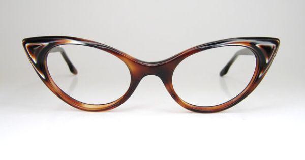 Vintage cat eye eyeglasses eyewear or sunglasses frame for Art craft eyeglasses vintage
