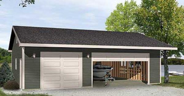 Plan 22098sl Versatile Garage Plan Garage Plans