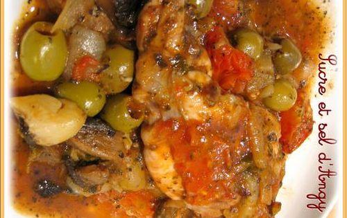 recettes en mijoteuse lapin aux olives cuisine algerienne tunisienne et marocaine. Black Bedroom Furniture Sets. Home Design Ideas