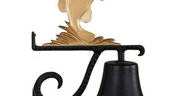 Montague Metal Products Cast Bass Bell Finish Montague Metal Products It Cast Nautical Shelves