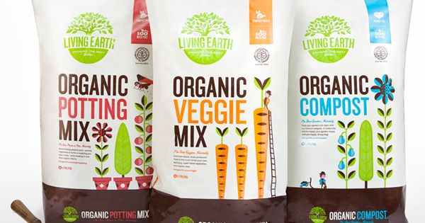 great packaging -- modern, bright colors, but still earthy