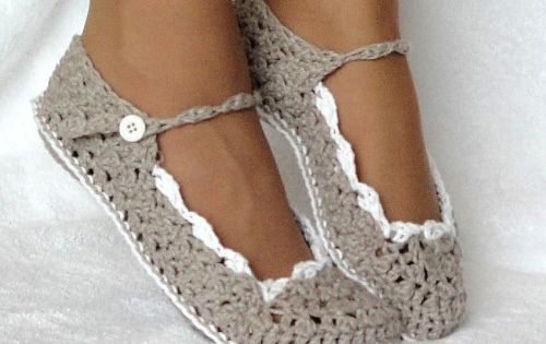 Cute Crochet Shoes (: