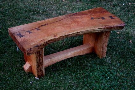 Live Edge Cherry Slab Coffee Table Wood Slab Diy Wood Bench