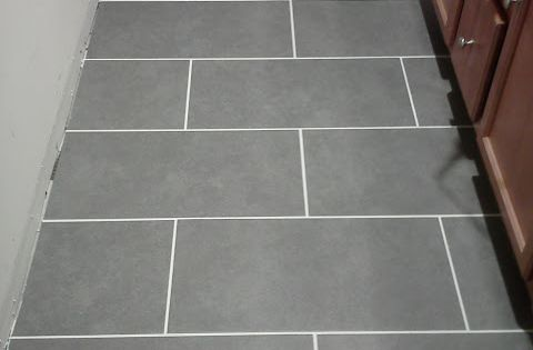Mitte Gray 12 Quot X 24 Quot Tile From Lowes 1 99 A Square Foot