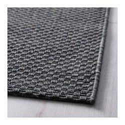 Morum Tapis Tisse A Plat Int Exterieur Interieur Exterieur Gris Fonce 160x230 Cm Ikea In 2020 Flatwoven Rugs Australia Rugs