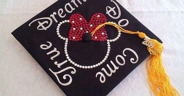 50 Super Cool Graduation Cap Ideas Disney Mickey Mouse