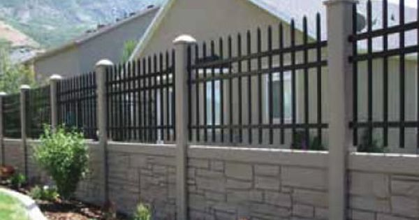 Pin By Lindsey Brogdon On Home Backyard Exteriors Fence Design Modern Fence Design Fence Wall Design