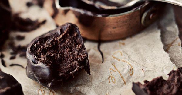chocolate praline truffles