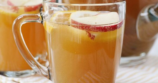 Slow Cooker Apple Cider Sparklers: A fun and festive take on warm