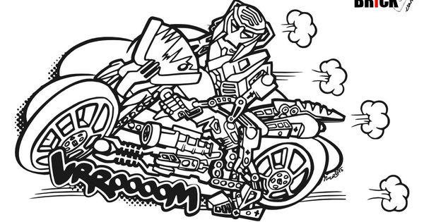 disegni da colorare lego hero factory furno bike clicca sull 39 immagine per scaricarla