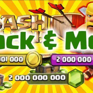 Clash Of Clans Hack 2020 Unlimited Gems Gold Elixir Clash Of
