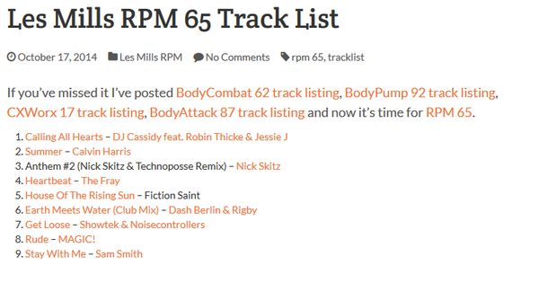 Rpm 64 Tracklist Related Keywords & Suggestions - Rpm 64 Tracklist