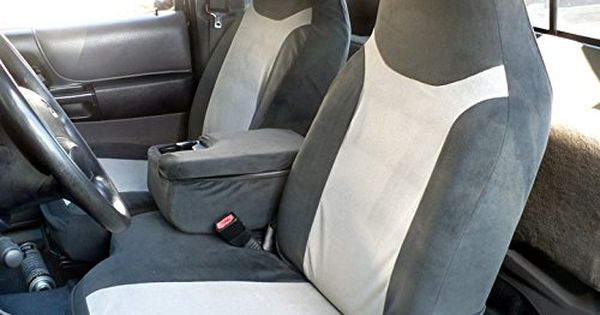 Durafit Seat Covers F286t7 Ford Ranger Xlt Pickup 6040 Bench Seat Custom Seat Covers With Opening Console Gray Ford Ranger 2003 Ford Ranger Custom Seat Covers