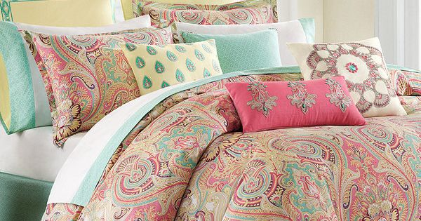 Love This Coral Amp Mint Paisley Bedding Set By Jla Home On